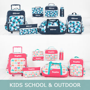 Personalised Kids School & Outdoors