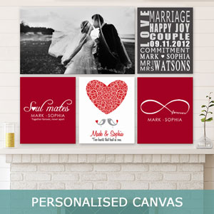 Personalised Wall Art Canvas