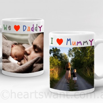 Kids Loving Expressions Personalised Mug