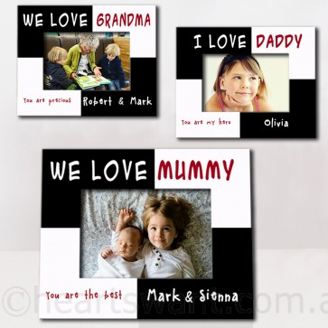Kids Loving You Personalised Photo Frame