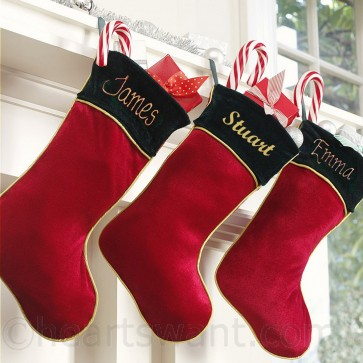 Personalised Classic Stockings