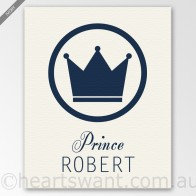 prince personalised canvas
