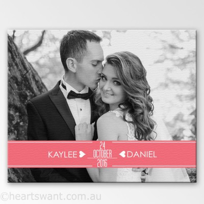 Wedding Memories Photo Wall Art