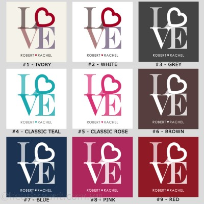 Only Love Personalised Throw Pillow
