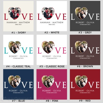 Love Heart Photo Canvas Art