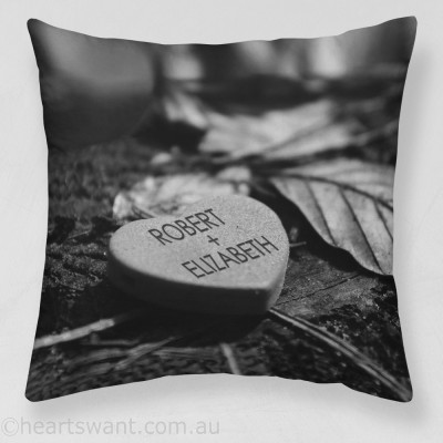 Candy Heart Personalised Cushion Cover