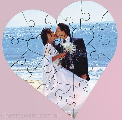 Photo Heart Personalised Jigsaw Puzzle