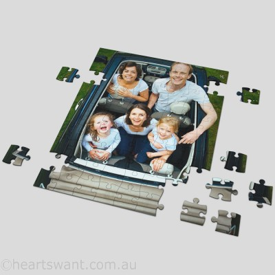 Photo Rectangle Personalised Jigsaw Puzzle