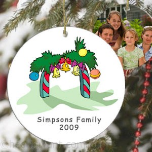 Family Christmas Arch Personalised Ornament