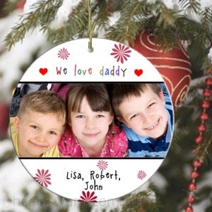 Loving You Photo Christmas Ornament