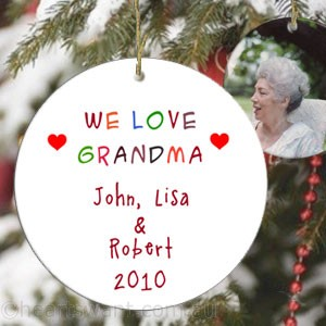 Loving You Personalised Ornament