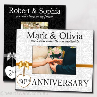 Anniversary Classic Personalised Picture Frame
