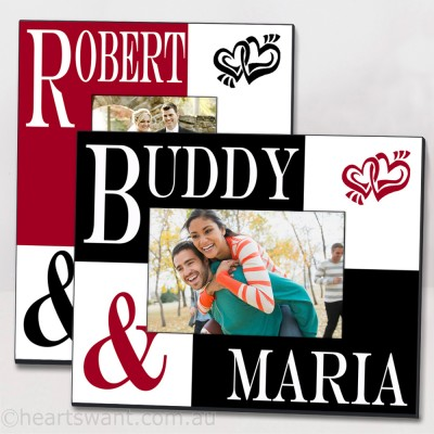 Couple Classic Personalised Photo Frame
