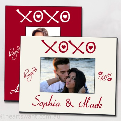 XOXO Personalised Picture Frame