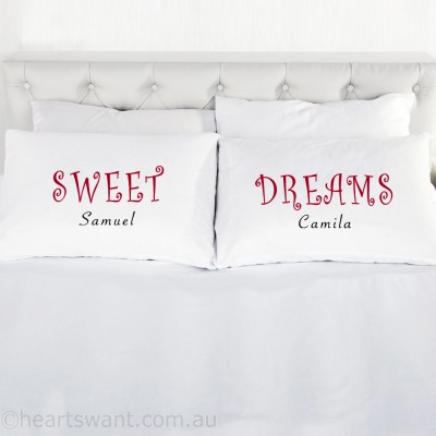 Sweet Dreams Personalised Pillowcases