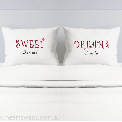 Sweet Dreams Personalised Pillowcases - 1